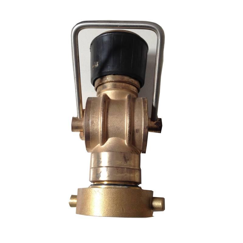 NST 3-position Fog Fire Hose Nozzle