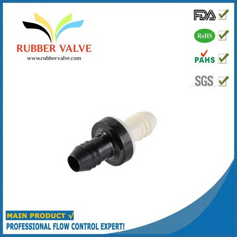 small plastic one way valve