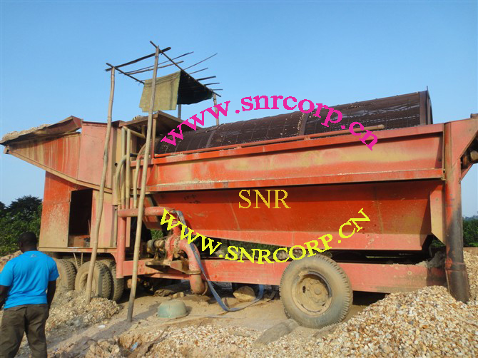 Gold mining machine