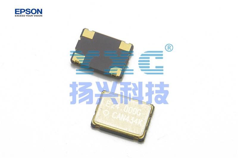 24mhz 7050 SG7050CAN EPSON 50PPM 4P 3.3V 1.6V to 3.6V Quartz Crystal Oscillator 24M 24.000mhz EPSON