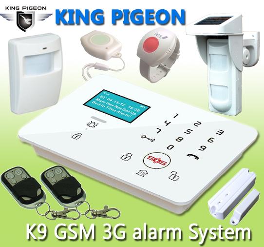 GSM 3G Touch Keypad Alarm System K9