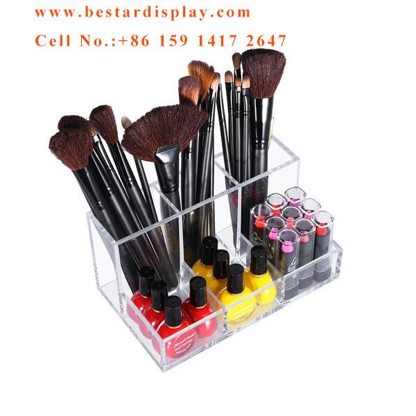 Custom Plexiglass PMMA acrylic nail polish display case