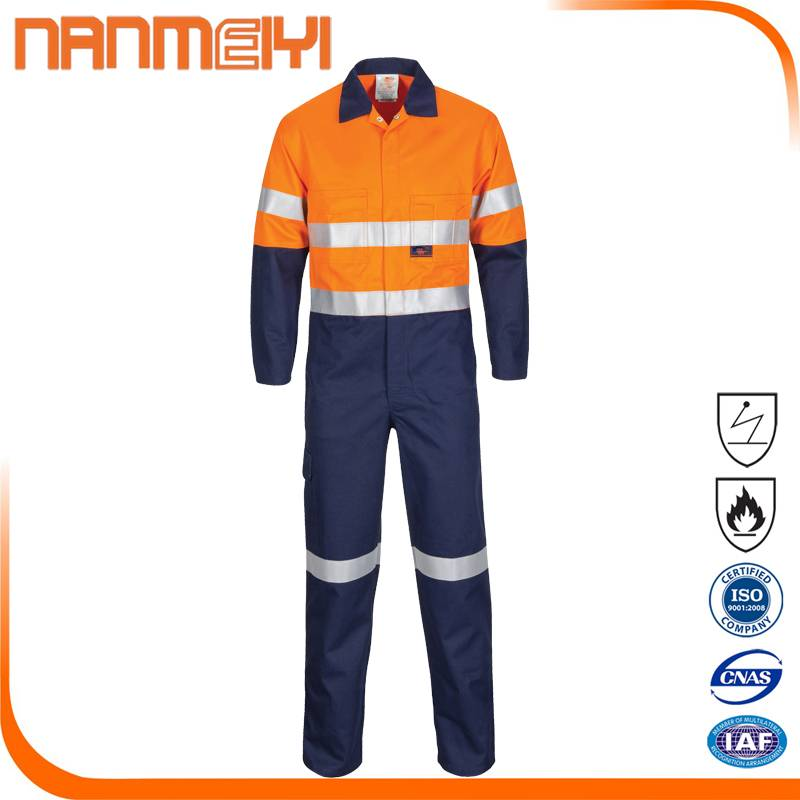 Safety Flame Retardant High-Vis Workwear Coverall