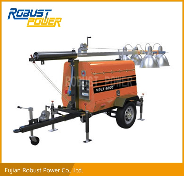 Kubota Engine Lighting Tower (RPLT-6000)