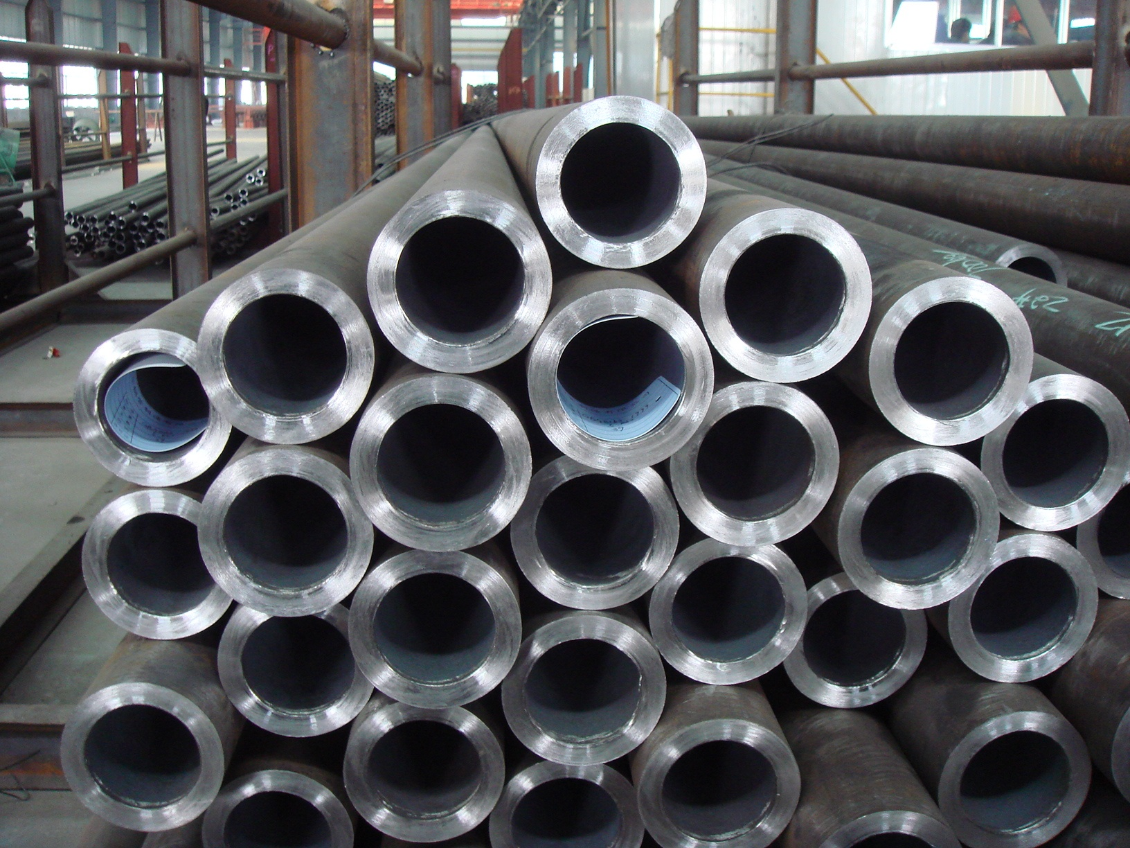 aluminum alloy round tube 6082 T5 T6 T651 for Fishing boat for car