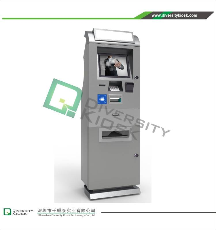 Multi-functionality Kiosk with Payment and Printing Modules