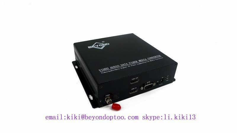 HDMI1.1/1.2/1.3 converter to fiber optic with loop out over thandem HDMI to fiber,2km(MM)20~100km(SM