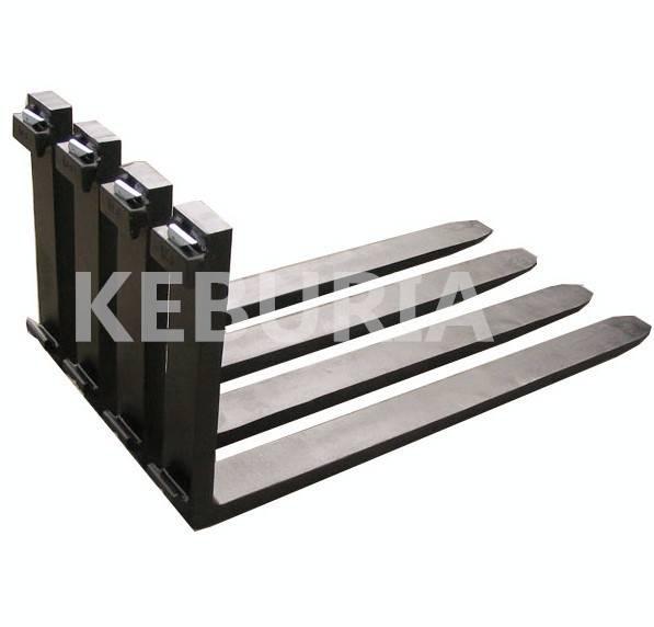 high quality ISO2328 standard steel bar hook type forklift fork arm ITA fork 2.0T