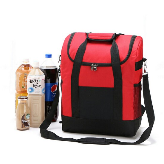 Insulated Foil Lining Picnic Cooler Backpack Bag