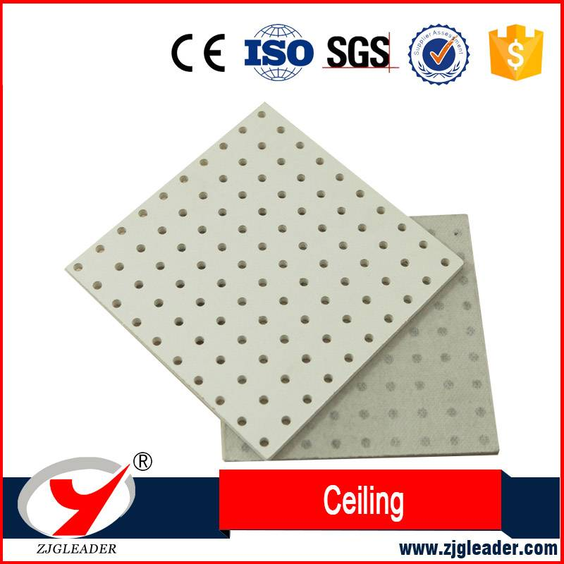 Fireproof acoustic perforated Ceiling