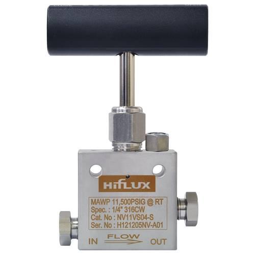 HIFLUX - High Pressure Needle Valve Straight Type