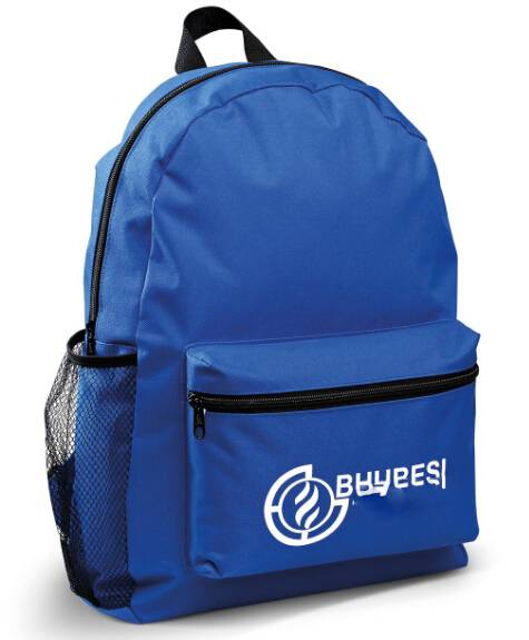 Custom Made Polyester Promotional Backpack Sports Rucksack
