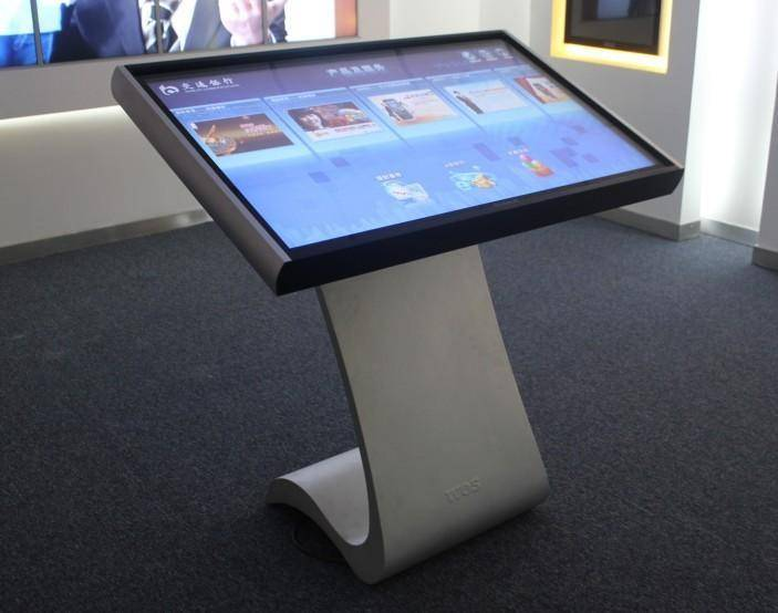Rent Business Advertising Equipment Leasing Canton Fair Leased-out LCD Touch Advertising Display