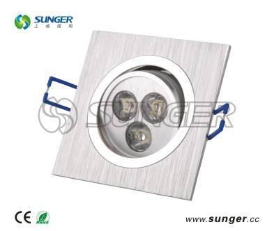 3*1W LED Ceiling Light