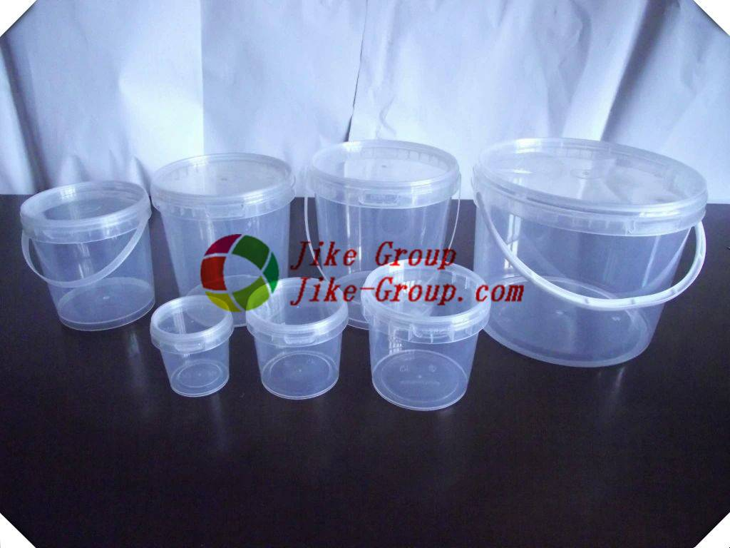 Food grade 1 gallon clear Plastic pail Bucket dutch buckets plastic ice cream bucket