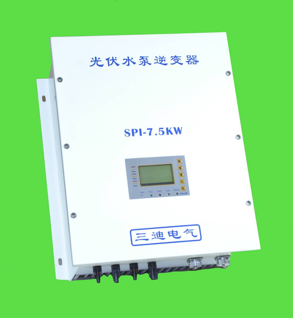 7.5kW solar pump inverter with MPPT and VFD