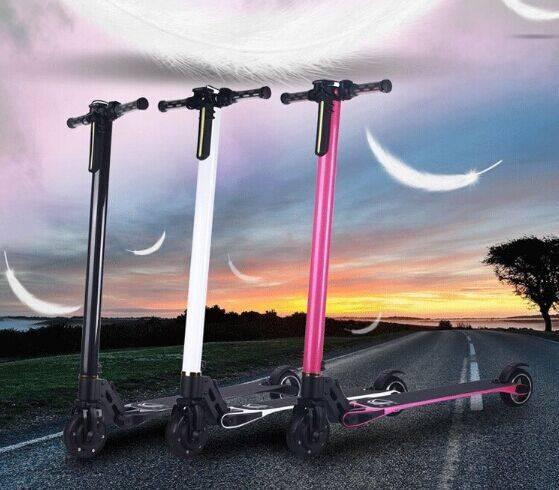 lightest carbon fiber kick scooter