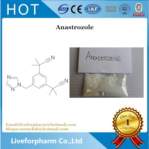 Anastrozole Arimidex Steroid Powder Purity 99% CAS 120511-73-1