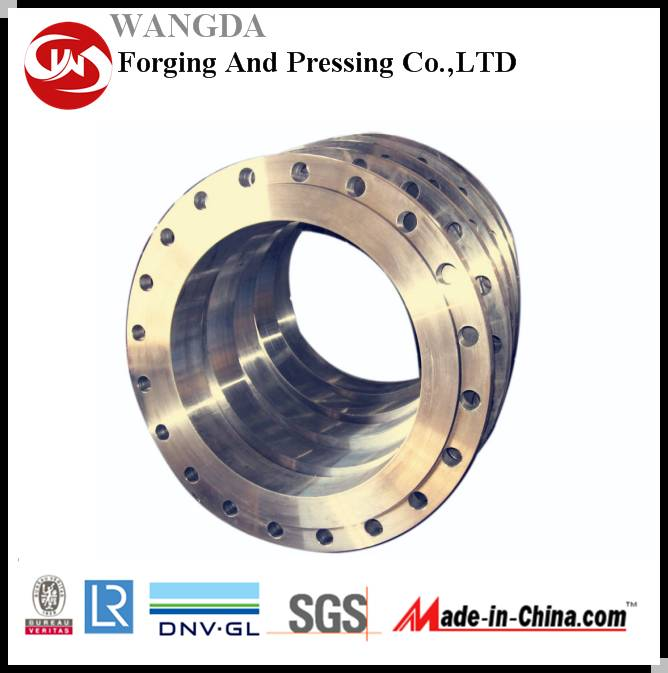 A105 Forged Welding Neck Pipe Flange Carton Steel Flange