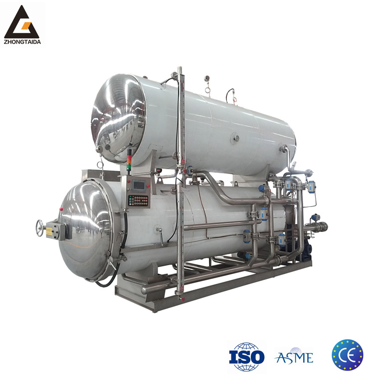 Low Price Tin Can Food Retort Autoclave Machinery