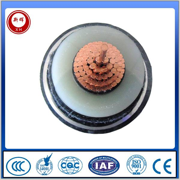 High voltage power cable