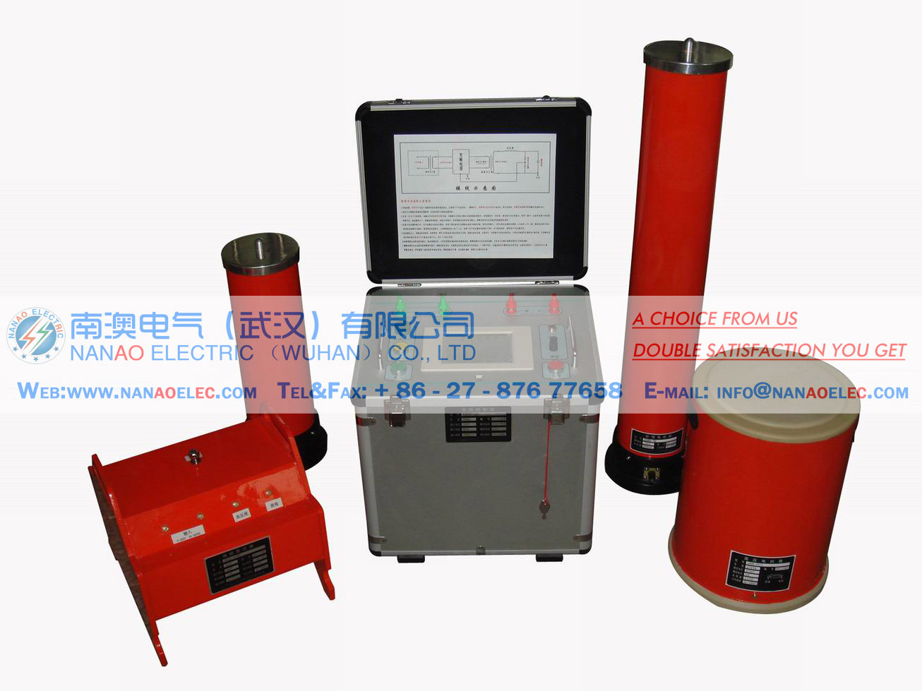 NAGXZ automatic power frequency resonance high voltage complete pressure testing device