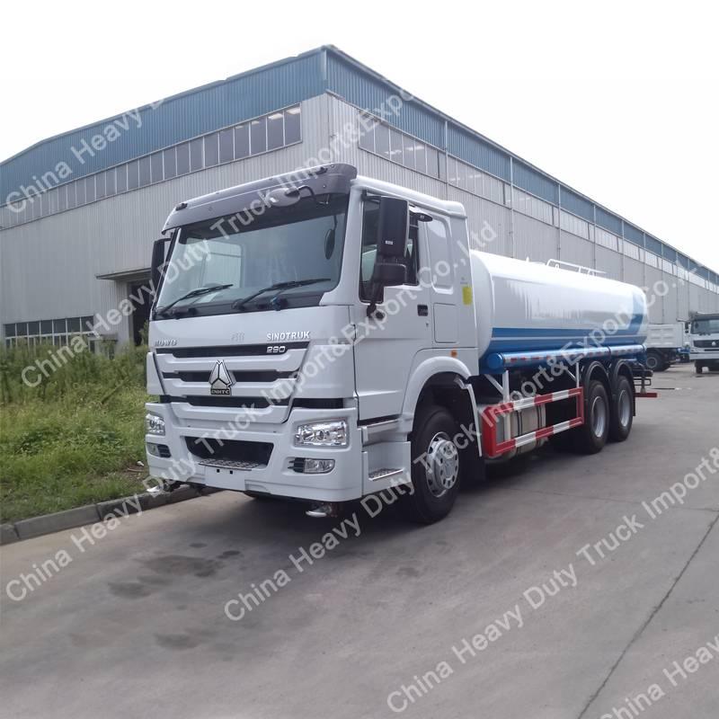 Sinotruk HOWO 6X4 Heavy Sprinkler/Water Tanker Truck
