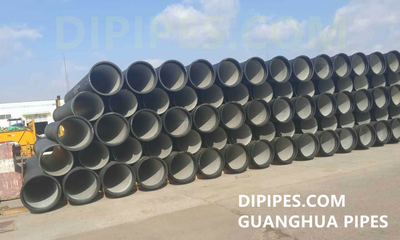 ISO2531 Ductile Cast Iron Pipes