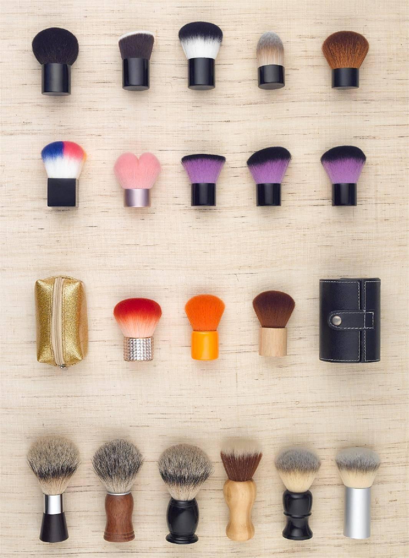 Kabuki Brush/ Beard brush/ Retractable Brushes/ Nail Brushes / Makeup Brush Set
