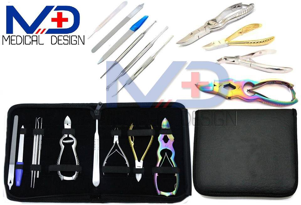 Manicure Pedicure Nail Cutters Clipper Nipper Kit