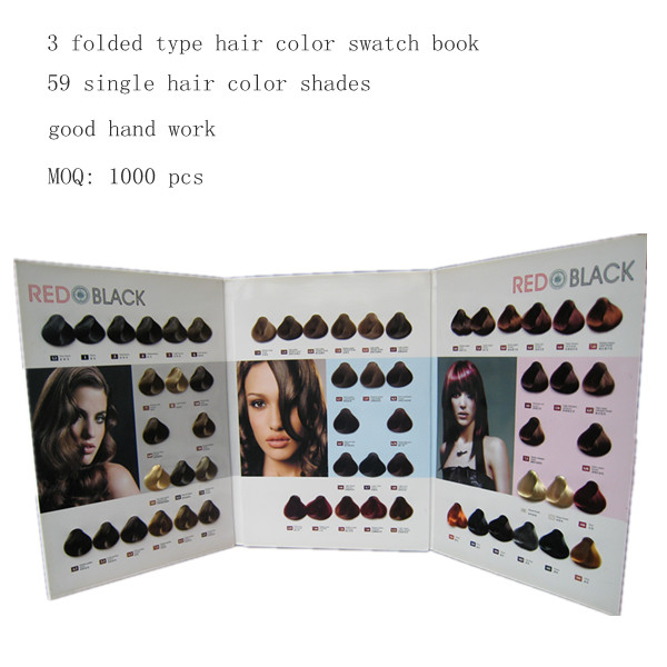 hair color book manufacture