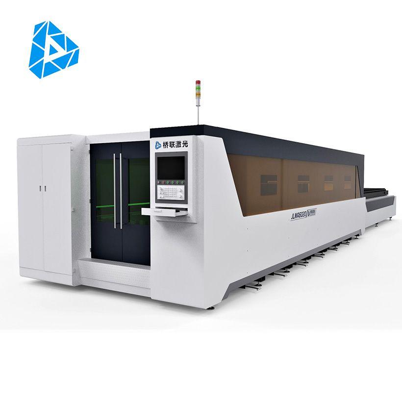 Fully Enclosed Exchange Worktable Fiber Laser Cutting Machine