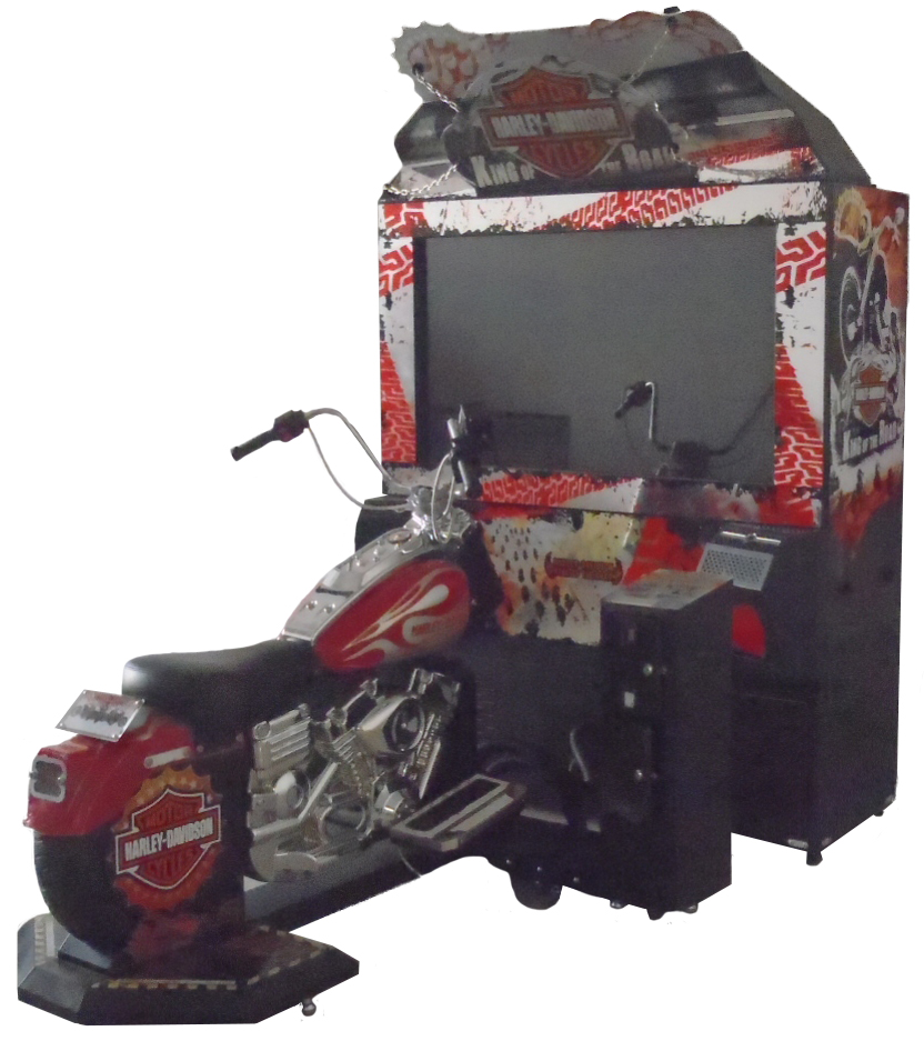 Haley Davidson King of the Road Amusement Game Machine Dedicated Machine