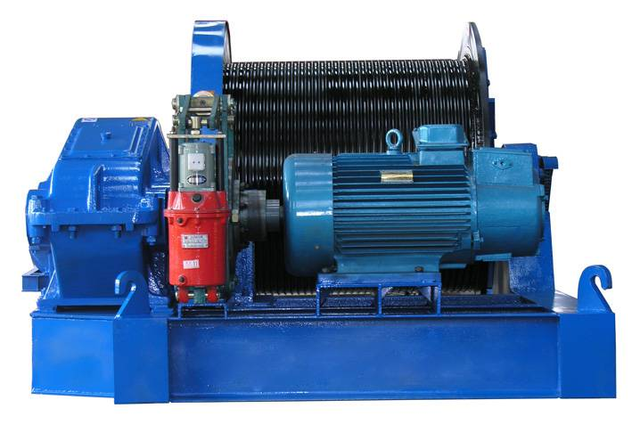 wire rope electric winch 10 ton