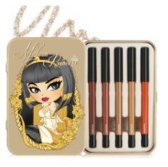 MakeOn Cleopatra Mermaid Gel Pencil Eyeliner Set (5 Shades)
