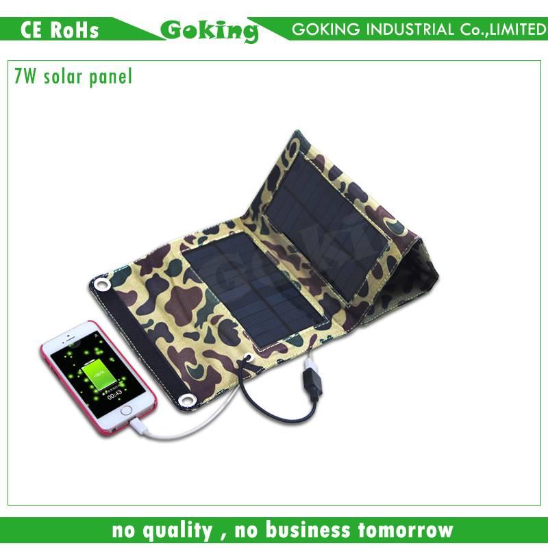 7W Portable Folding Solar Panel