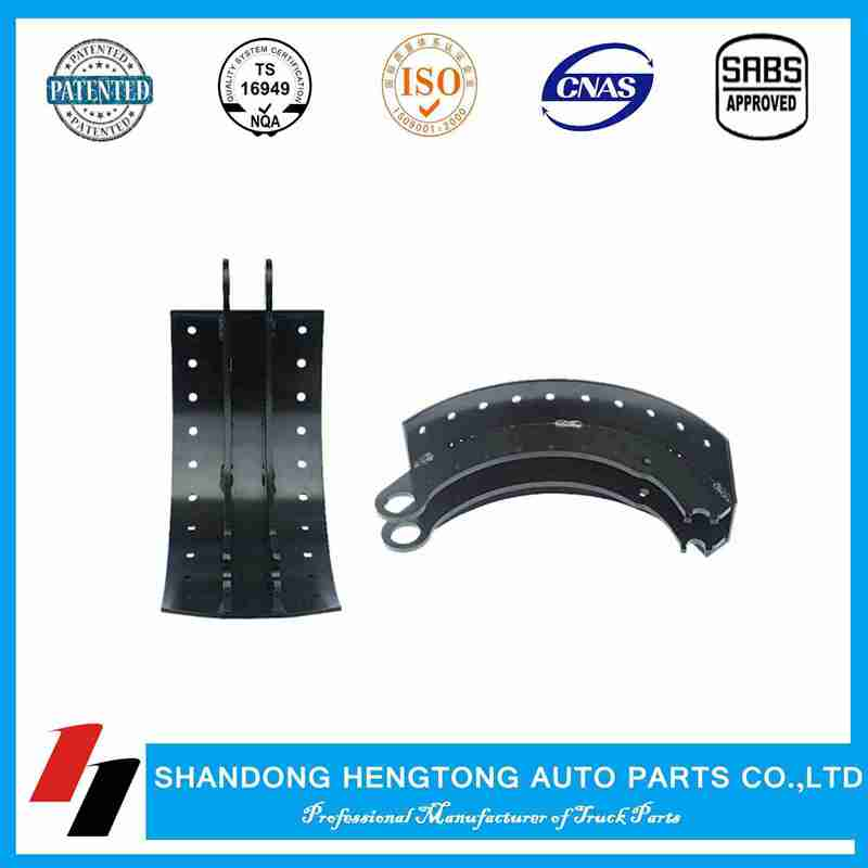 Brake shoe assembly with kit