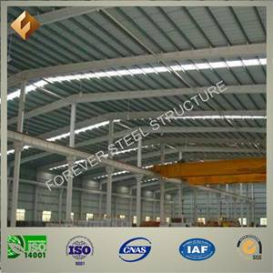 prefabricated steel structure for warehouse and workshop