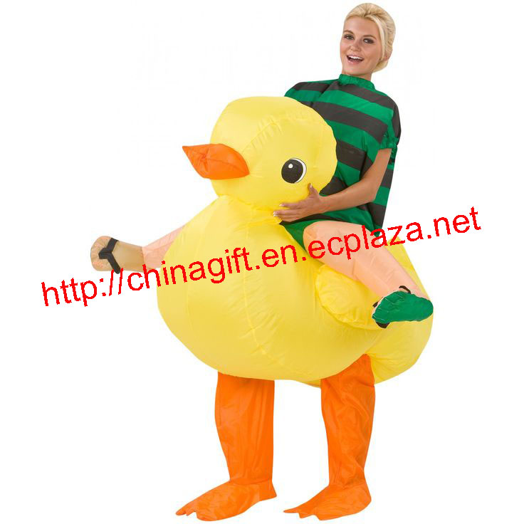 Rubber Duck rider costume