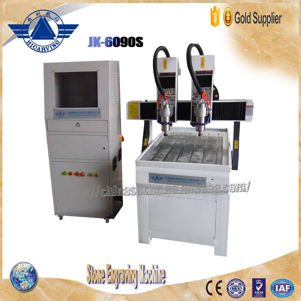 JK-6090 stone cnc router cnc engraving machine