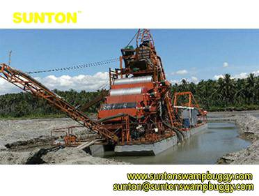 Iron Mining Dredger