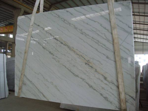 China Cararra White Marble