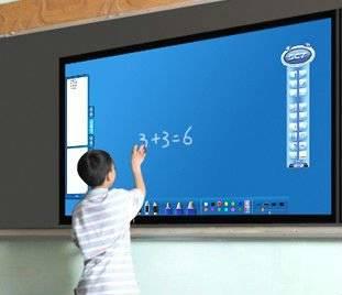 LED electronic whiteboard