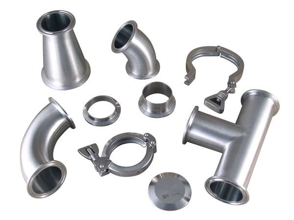 Sanitary stainless steel tri-clamp union