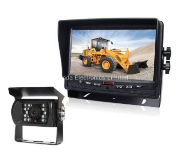 7inch TFT LCD Monitor with HD Truck Bus Rear Vision Camera