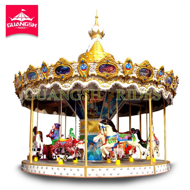 vintage amusement park ride kids merry go round for sale