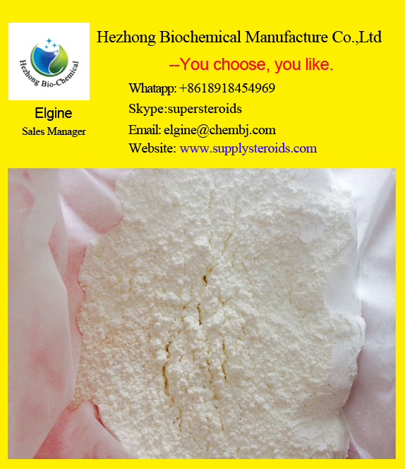 Pharmaceutical Raw Materials Stanolone Steroid DHT For Chronic Wasting Disease API
