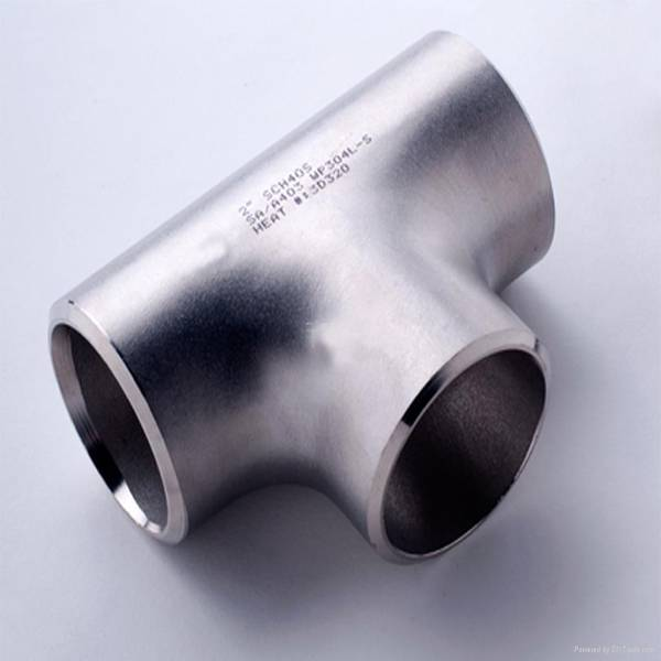 equal TEE,straight tee with carbon steel, butt welding pipe fitting