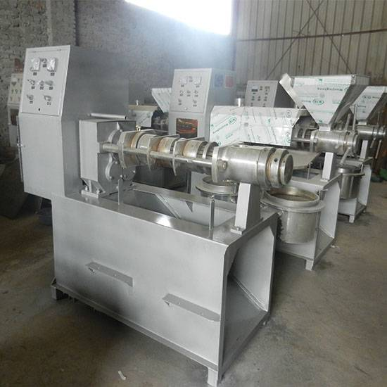 Hot sale 6YL-80 2380USD automatic groundnut oil mill