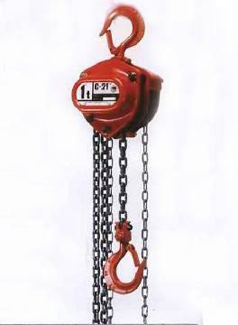 Japanese Elephant C21-type small chain hoists